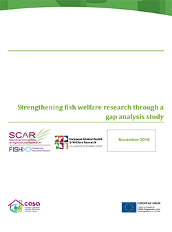 Report CWG-AHW, CASA, FISH welfare